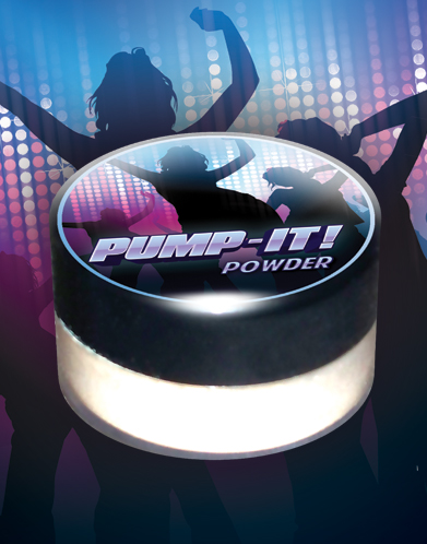 pump-it powder bath salts