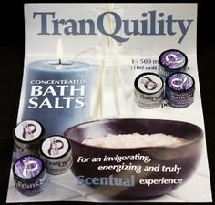 tranquility bath salts
